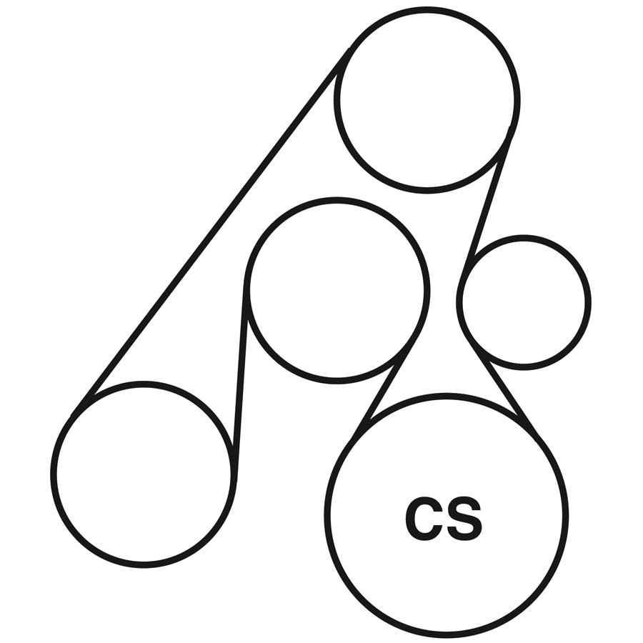 2003 hyundai santa fe belt routing diagram