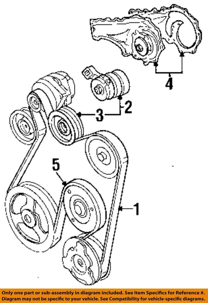 Drive Belt Diagram 2002 Cadillac Seville