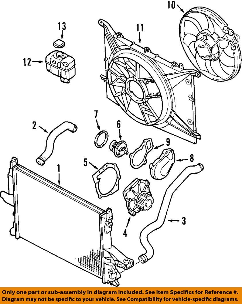 Volvo oem 01 07 v70 radiator 31319056 ebay 1 on diagram only genuine oe factory original item tesla model s engine diagram nissan leaf engine diagram