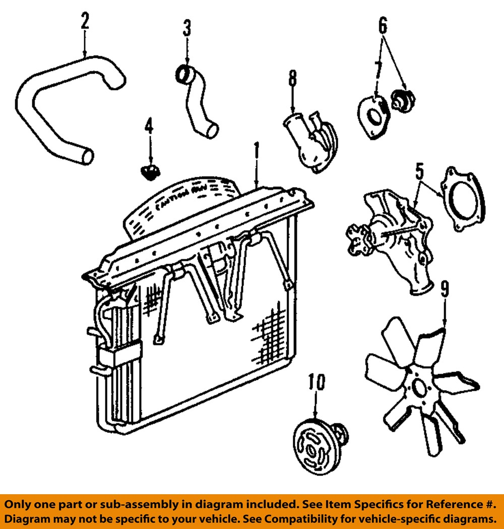 2004 Jeep Grand Cherokee Cooling System Diagram