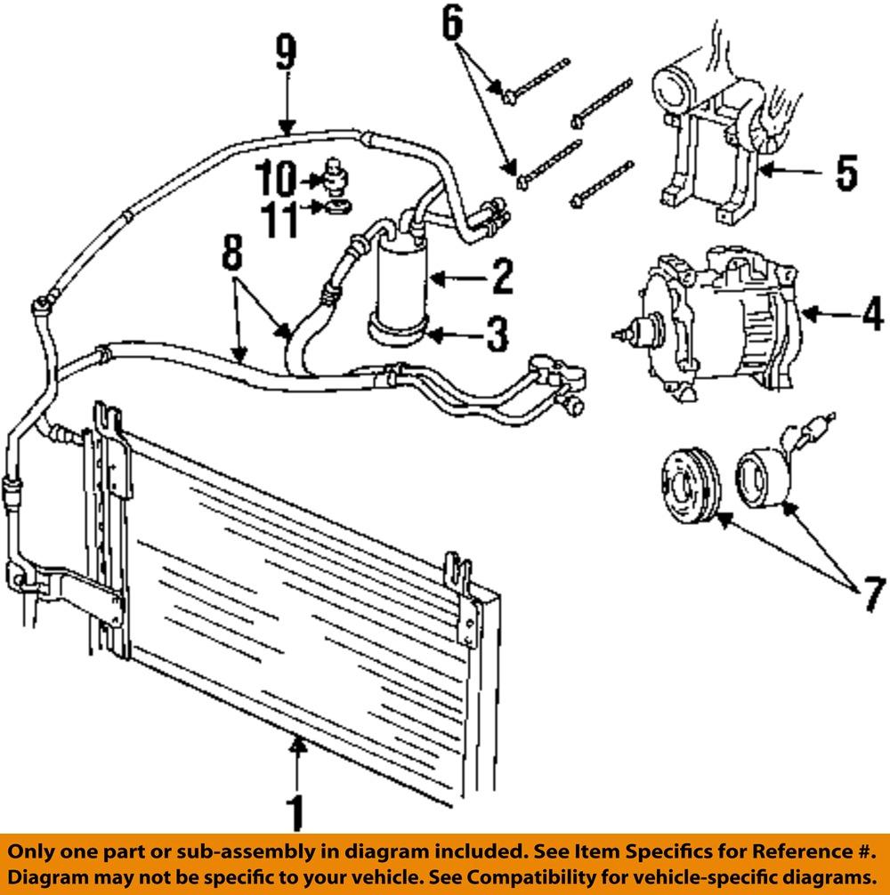 Dodge chrysler oem 98 02 ram 3500 ac a c air conditioner liquid rh ebay 2000 dodge ram 3500 headlight wiring diagram 2000 dodge ram red