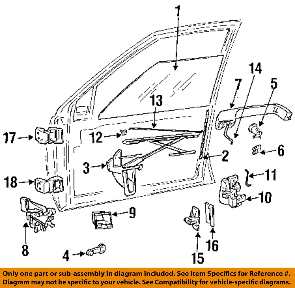 Jeep Wrangler Door Hinge Parts Diagram