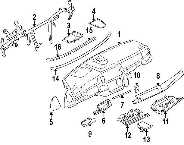 Genuine bmw trim panel clip bmw 51167151389