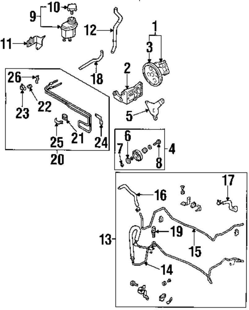 Genuine infiniti pressure hose inf 49720cr900