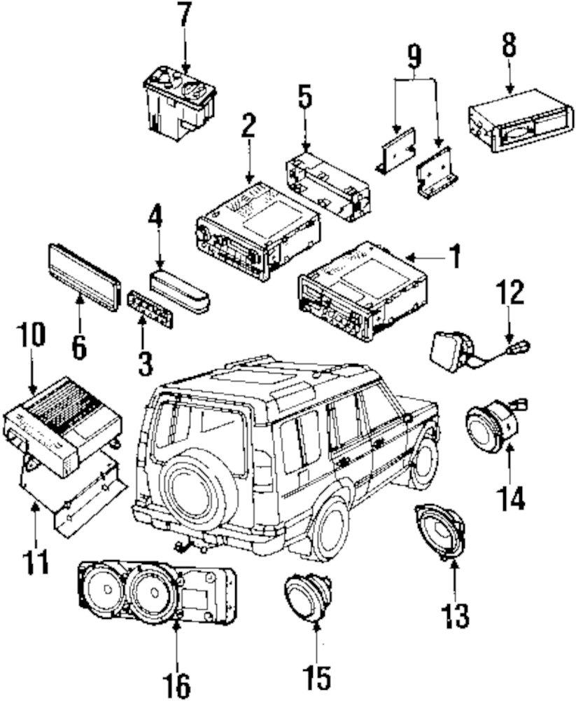 Genuine land rover speaker ran amr5512