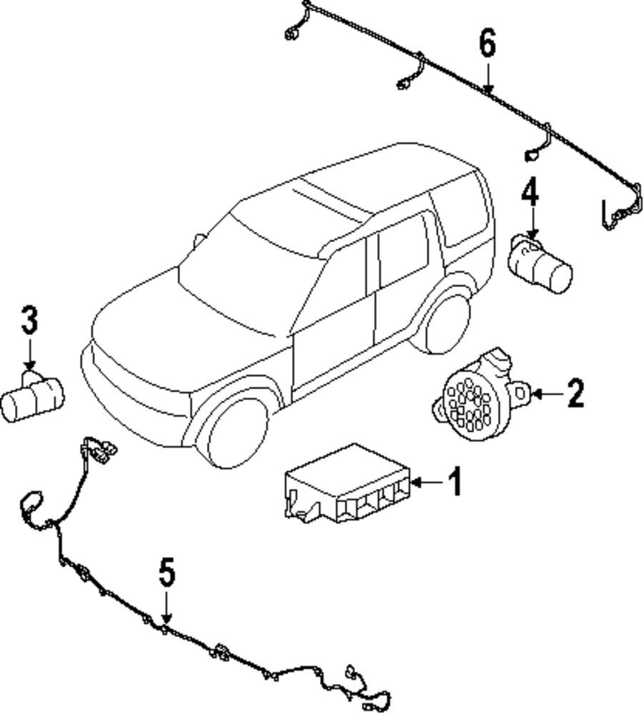 Genuine land rover speaker ran lr006482