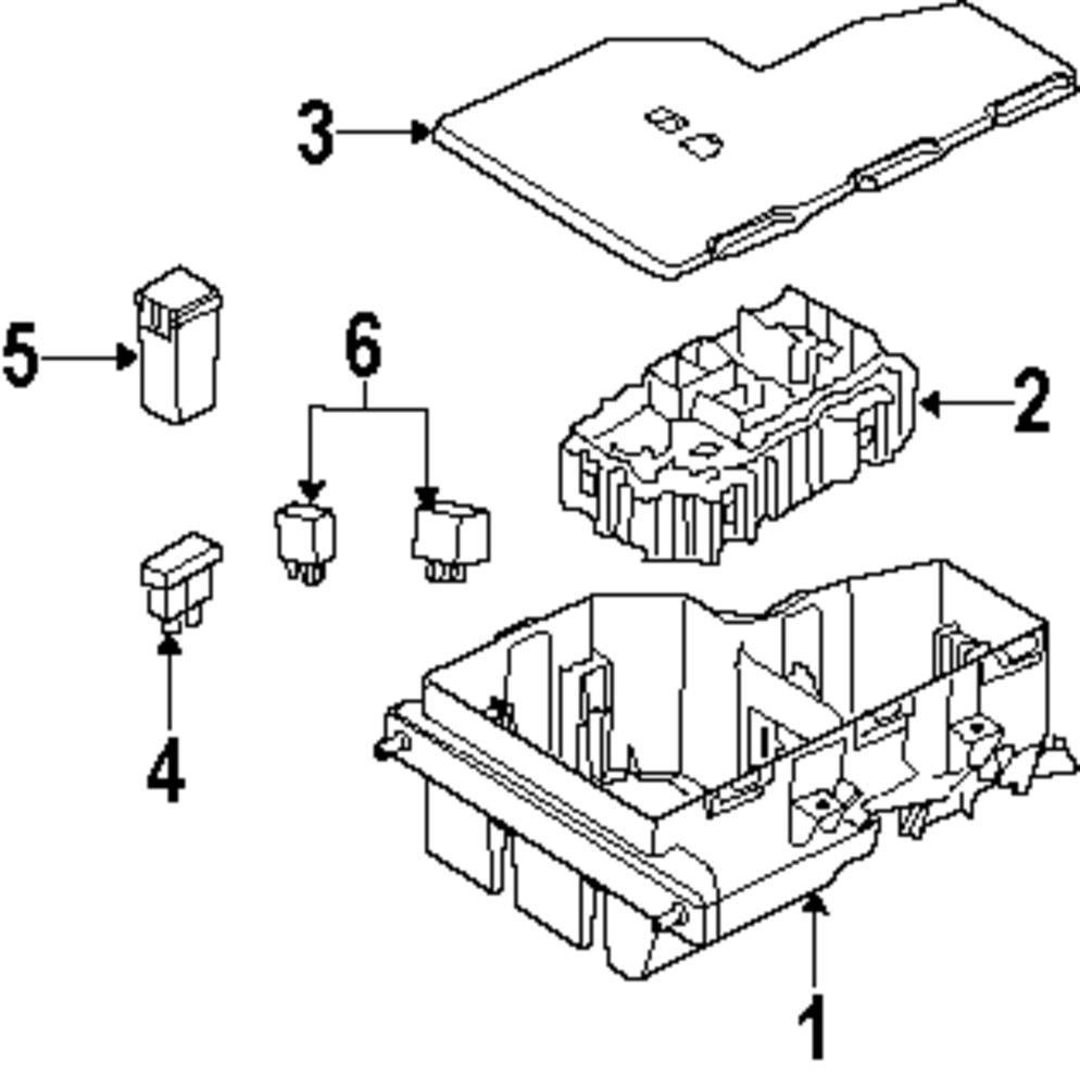 Genuine land rover fuse box cover ran lr014333