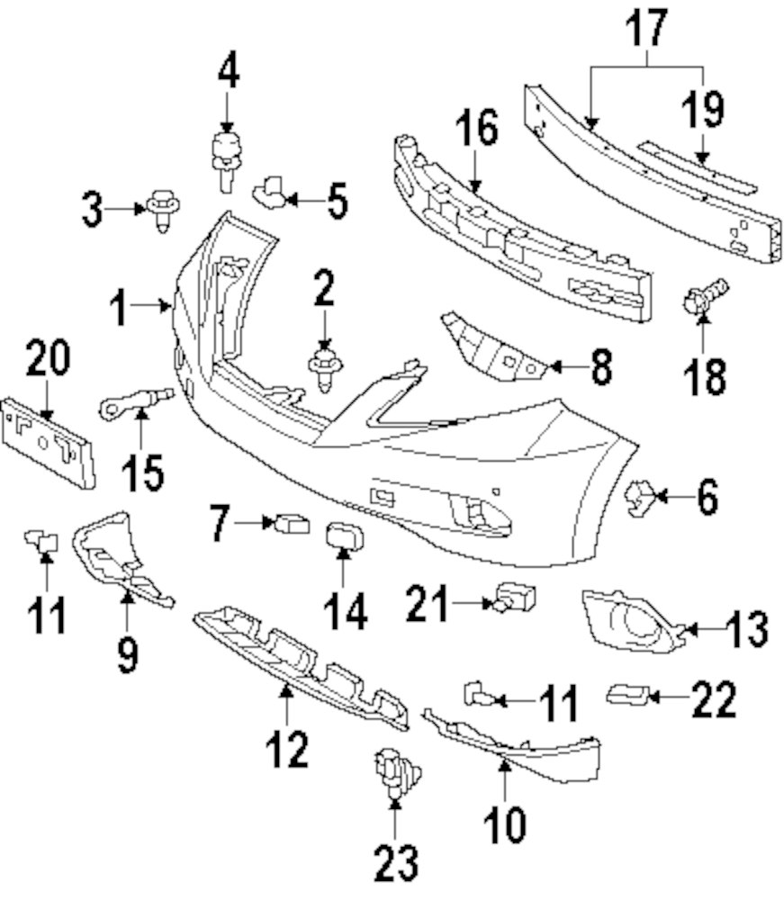 Interesting lexus oem parts diagram pictures best image diagram