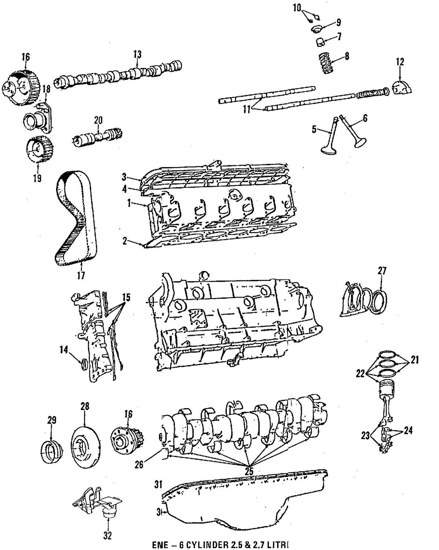 Genuine bmw overhaul gasket set bmw 11001730875
