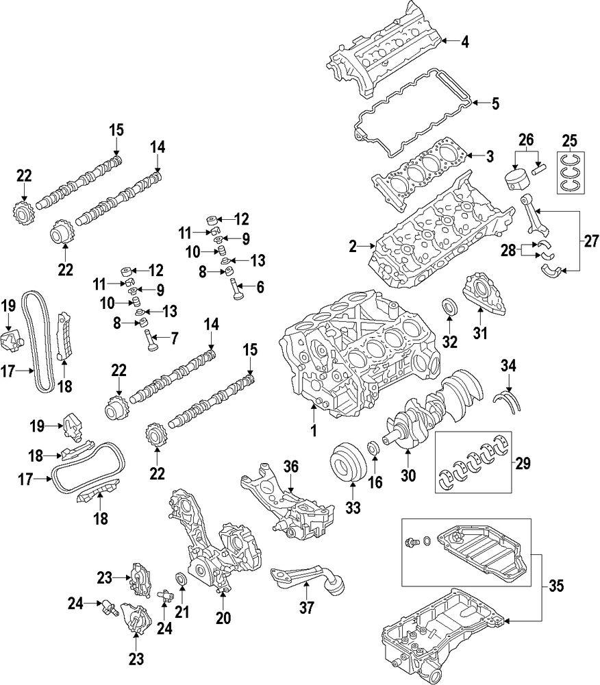Genuine infiniti valve springs inf 132031ca0c