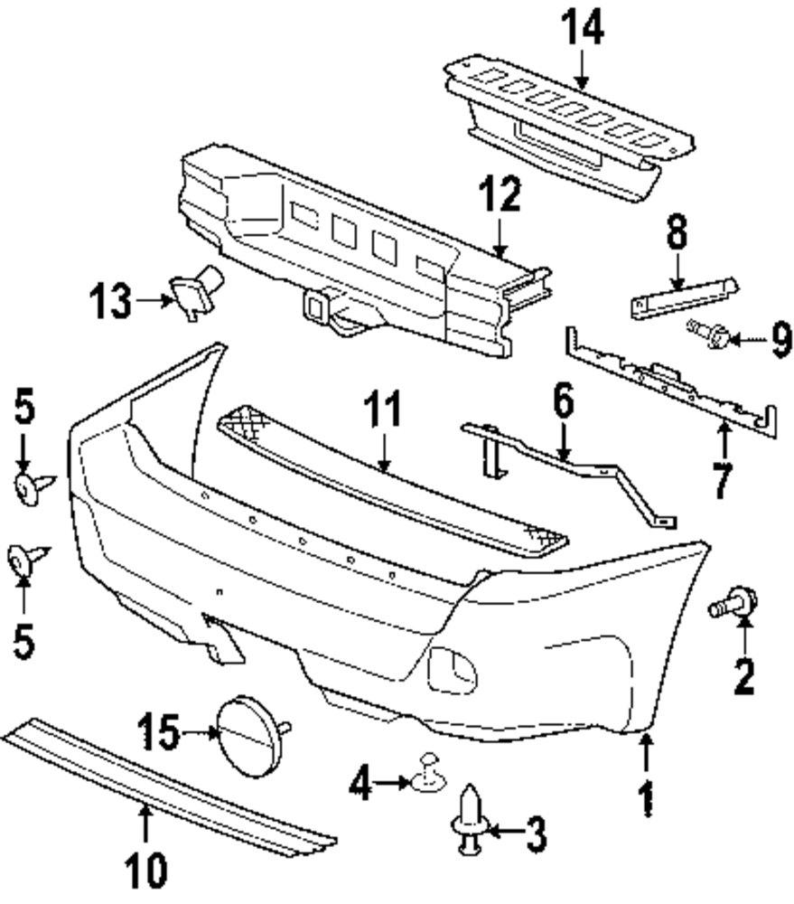 Bumper cover retainer