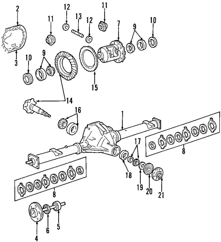 Genuine lincoln drive shaft lin f75z4602sa