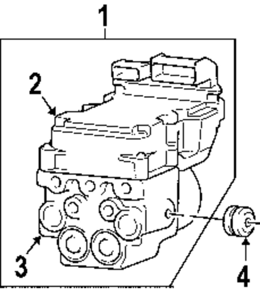 Genuine dodge control module dod 5083096ac