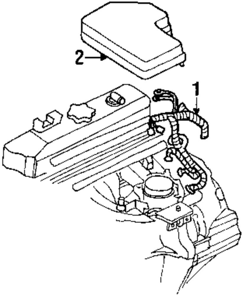 Genuine dodge engine harness dod 56049135ae