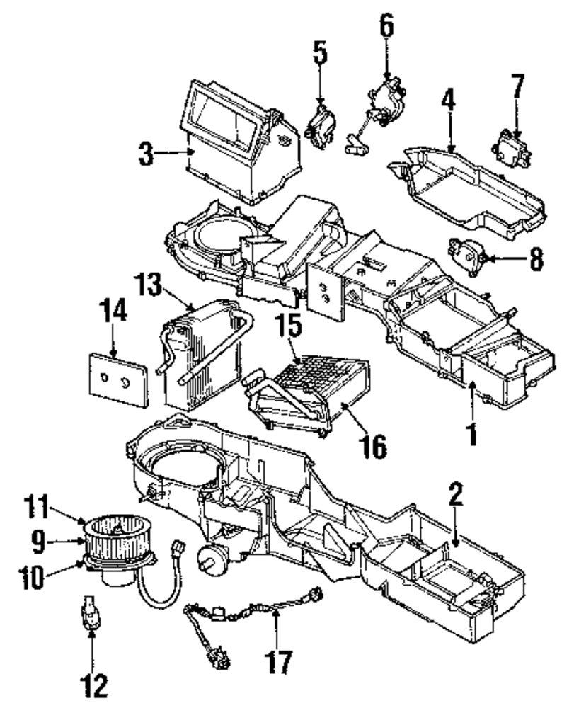 Mazda B2300 Transmission Diagram