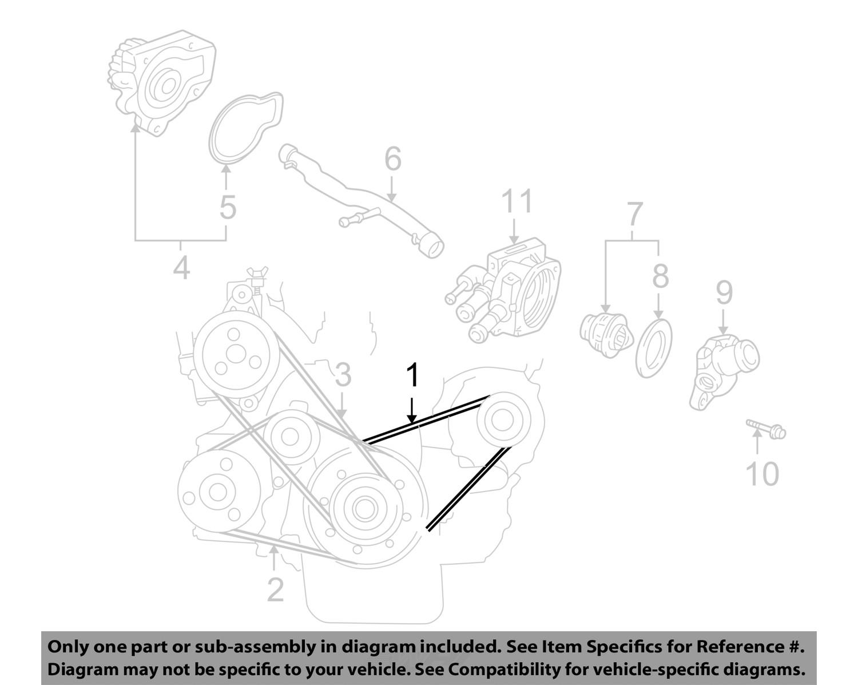 Acura honda oem belts pulleys alternator belt 38920pm5a04 ebay rh ebay 2001 acura integra 98