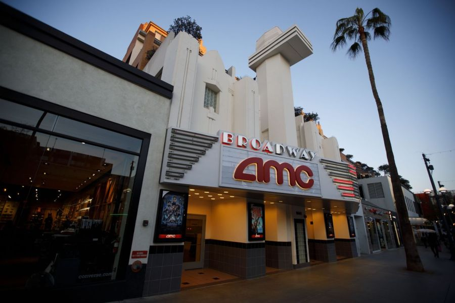 Hollywood Studios Fear AMC s New MoviePass Competitor Will Erode     An AMC movie theater in Santa Monica  Calif  In cities like New York and