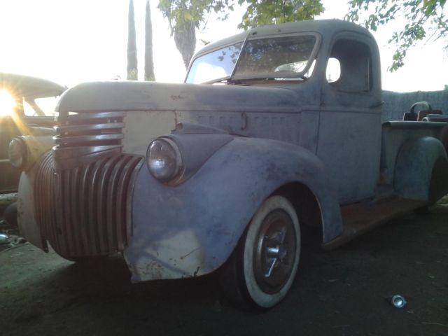 Truck 1945 Fenders Chevy Rear