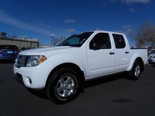 2012 Nissan Frontier Pickup Truck 4wd Crew Cab Swb Auto