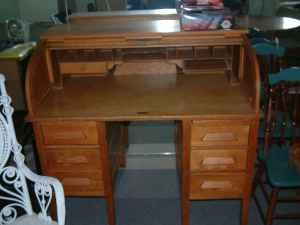 Antique C Roll Top Desk Williamsport Pa For Sale In