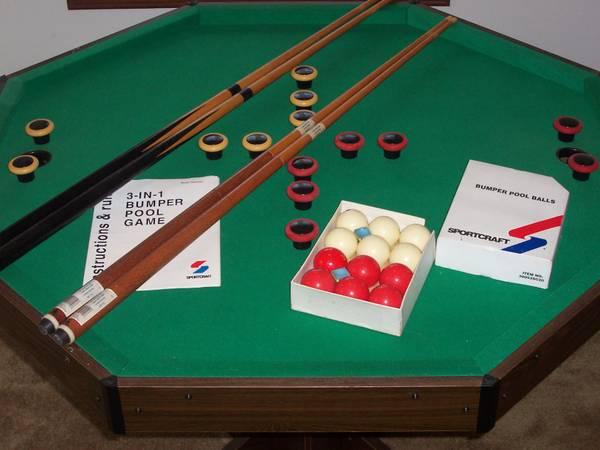 Octagon Table Poker Dining