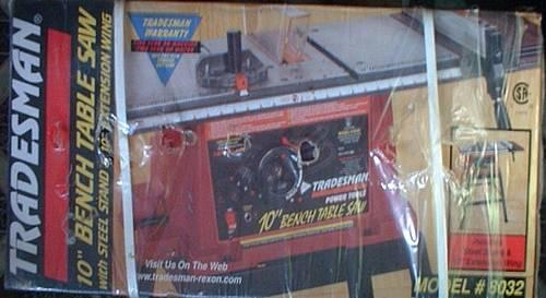For Sale Tradesman 10 Quot Bench Table Saw With Steel Stand
