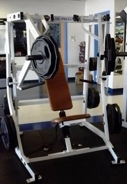 Hammer Strength Iso Incline Bench Machine For Sale In