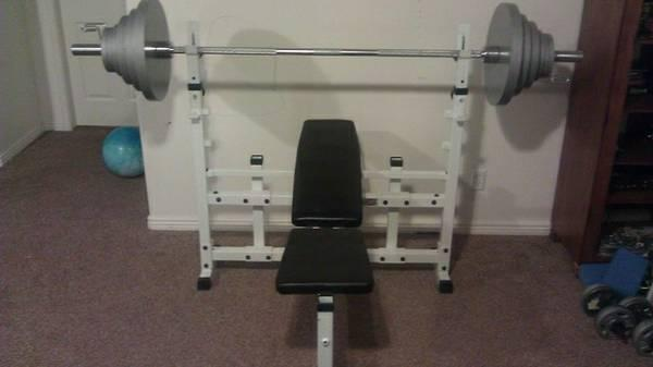 Keys Strength Trainer 2300 Olympic Bench Press For