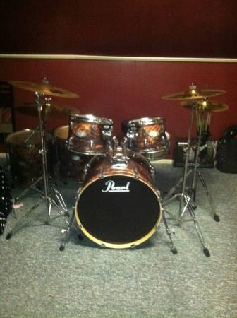 Pearl Drum Set for sale for Sale in Richmond  Indiana Classified     Pearl Drum Set for sale