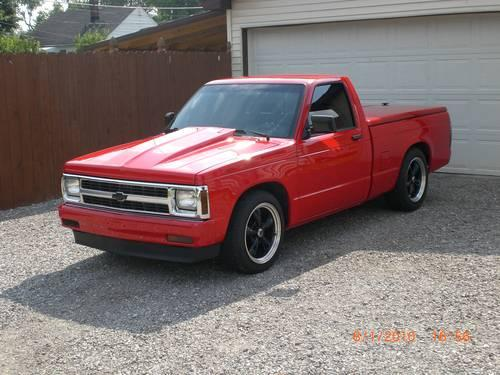 2001 Black S10 Wheels Chevy