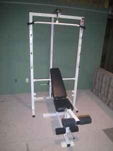 Weider Pro 355 Squat Rack Bench Press Ava Il For Sale