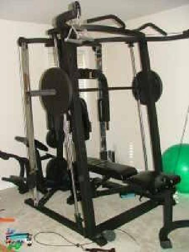 800 Fitness Gear Ultimate Smith 2 Machine Home Gym For