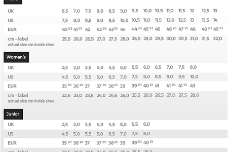 Men And Women Shoe Size Chart 4k Pictures 4k Pictures Full Hq