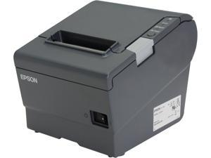 Receipt Printer  POS   USB  Bluetooth  POS   NeweggBusiness Epson TM T88V POS Thermal Receipt Printer   Dark Gray C31CA85081
