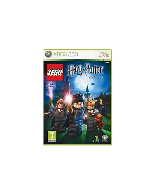 LEGO HarryPotter Years 1 4 Xbox 360 Game   J D Williams LEGO Harry Potter Years 1 4   Xbox 360 Game