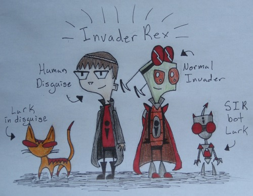 Invader Zim Oc Characters