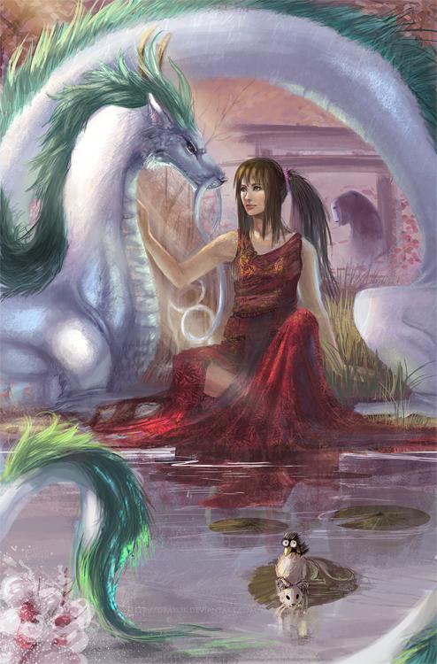 Spirited Away Haku Dragon Wallpaper