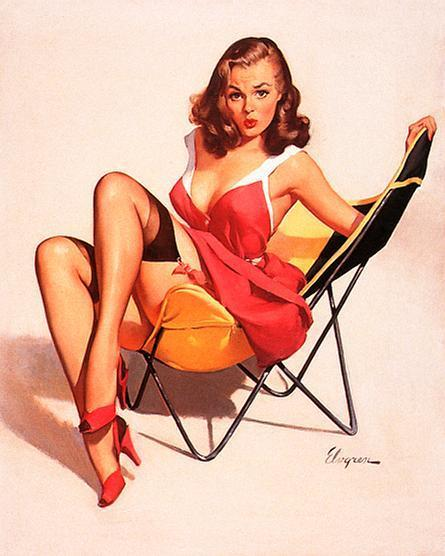 Gil Elvgren Pin-Up - Pin Up Girls Photo (5443325) - Fanpop