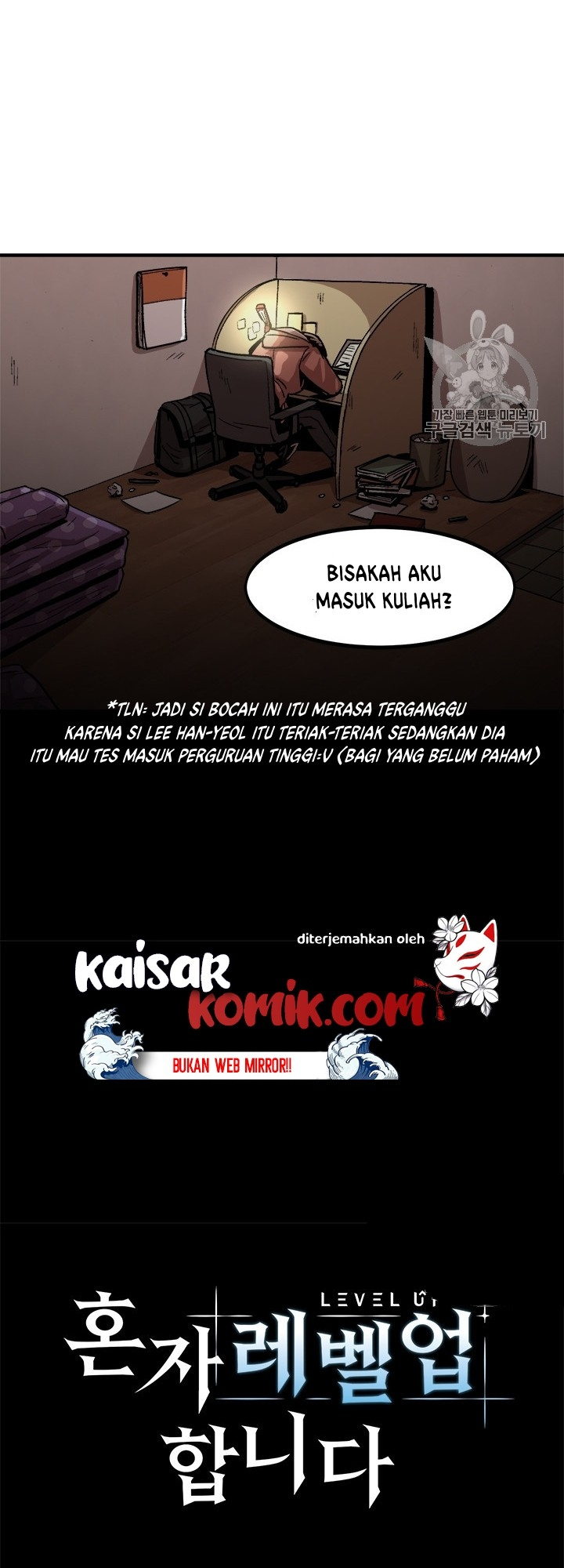Bring my level up alone Chapter 07 Bahasa Indonesia