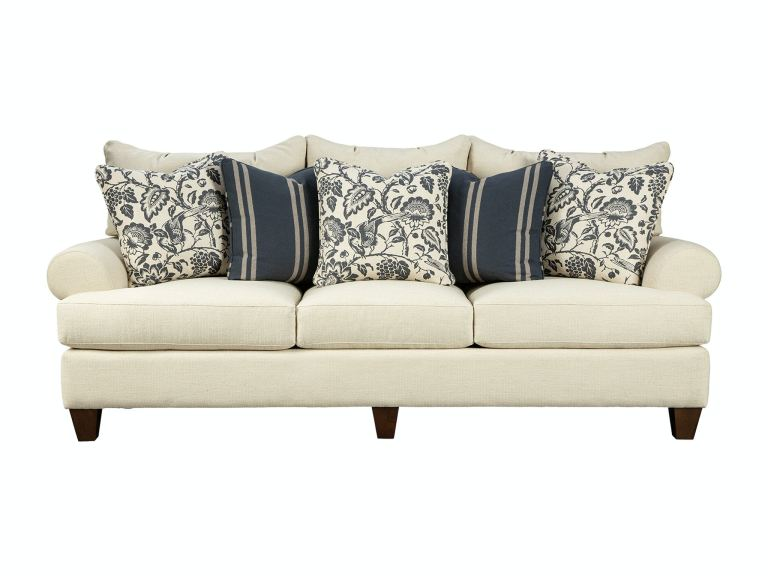 Paula Deen By Craftmaster Living Room Sofa P781650bd Gibson Paula