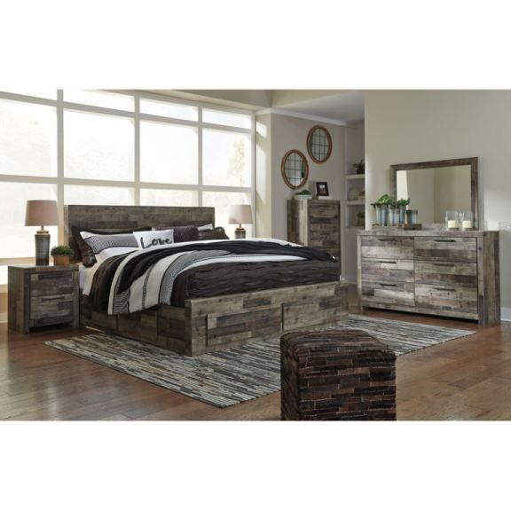 Ashley Derekson 5 Piece King Panel Bedroom Set B200 31 36
