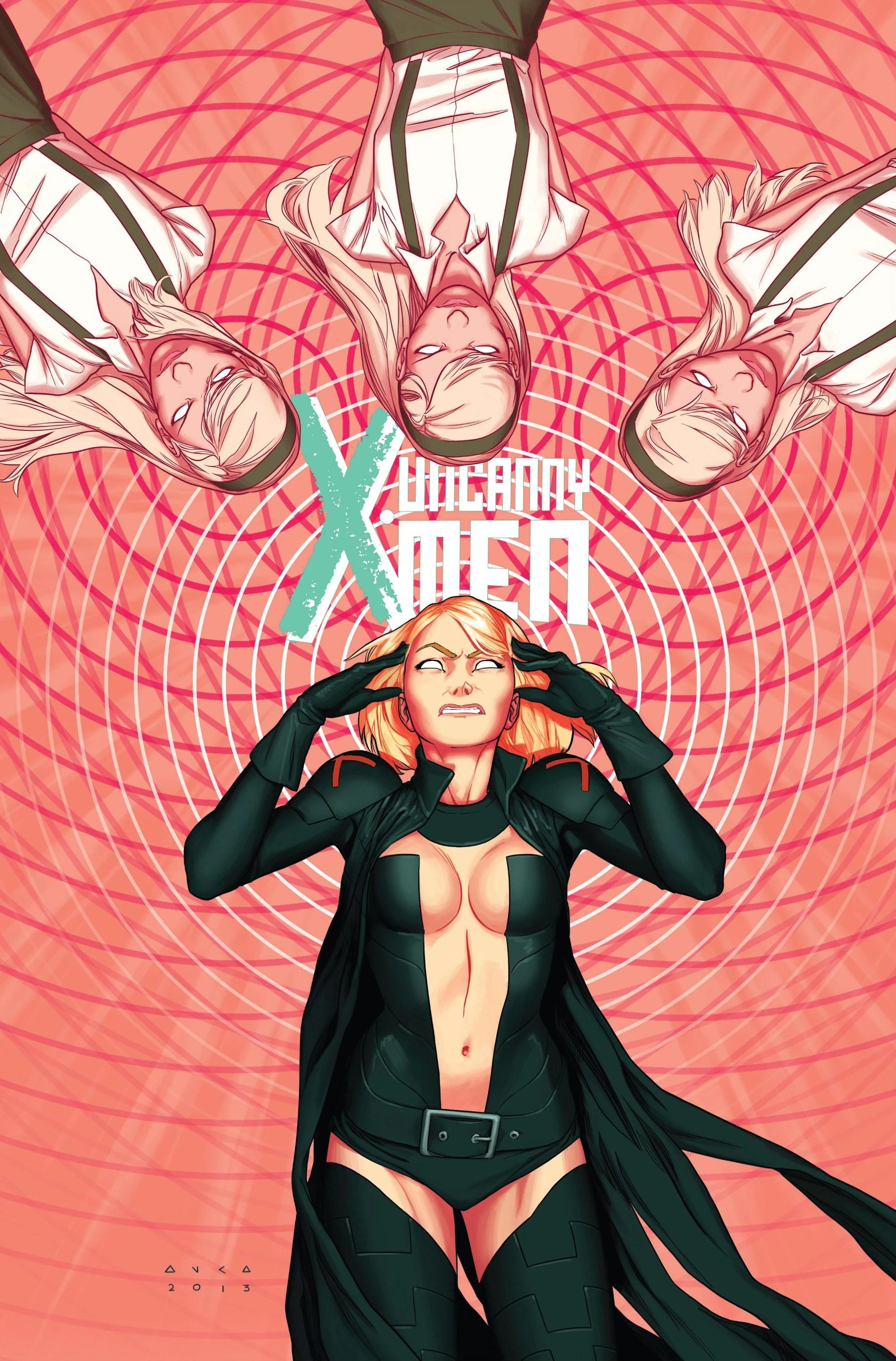3 X Uncanny Men Frost Emma Vol