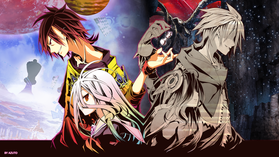 670 No Game No Life HD Wallpapers   Background Images   Wallpaper Abyss HD Wallpaper   Background Image ID 819294  1920x1080 Anime No Game