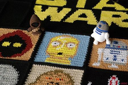 Star Wars Blanket Crochet 4k Pictures 4k Pictures Full Hq