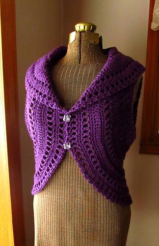 Ravelry Circle Vest Shrug Pattern By Patricia Hodson