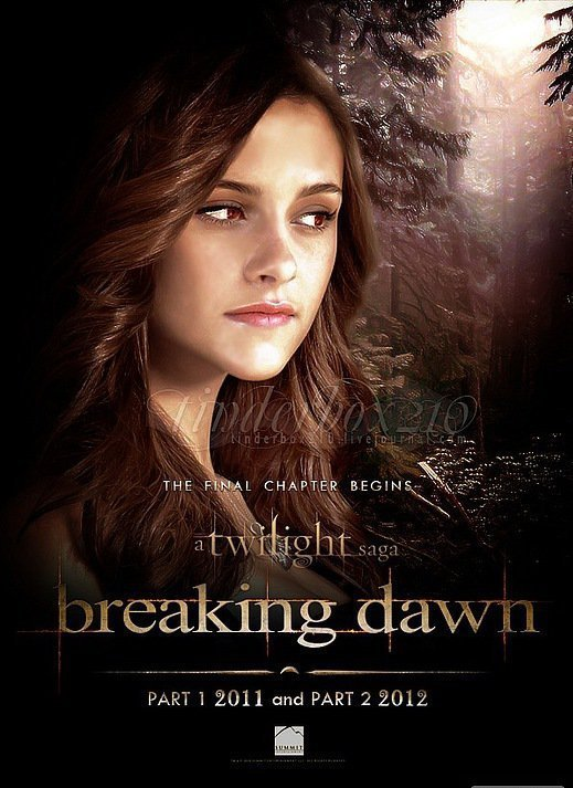 Dawn Jacob Part And Breaking Renesmee 2