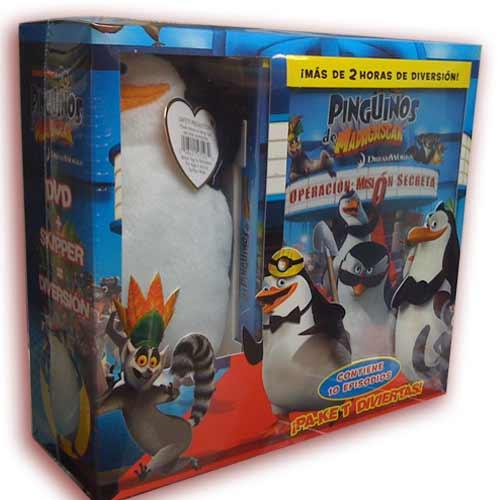 Penguins Pride Badger Madagascar