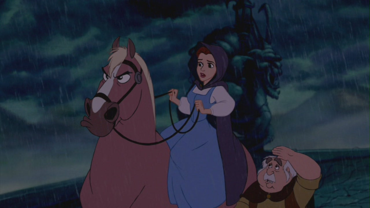 Beauty Belle Disney Screencaps Beast