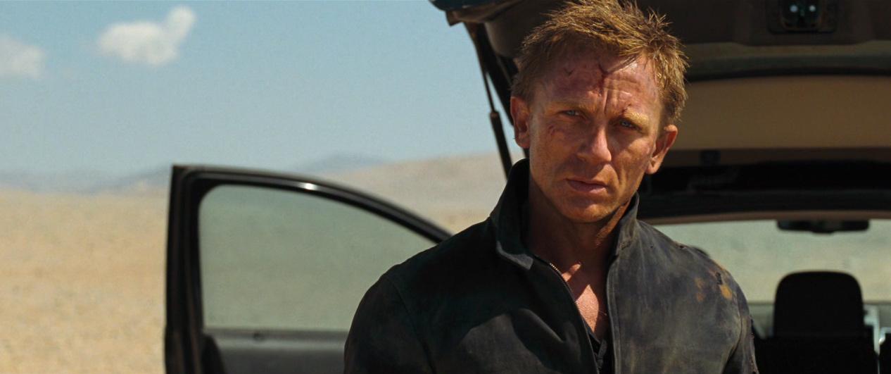 Daniel Craig On Quantum Of Solace Daniel Craig Image