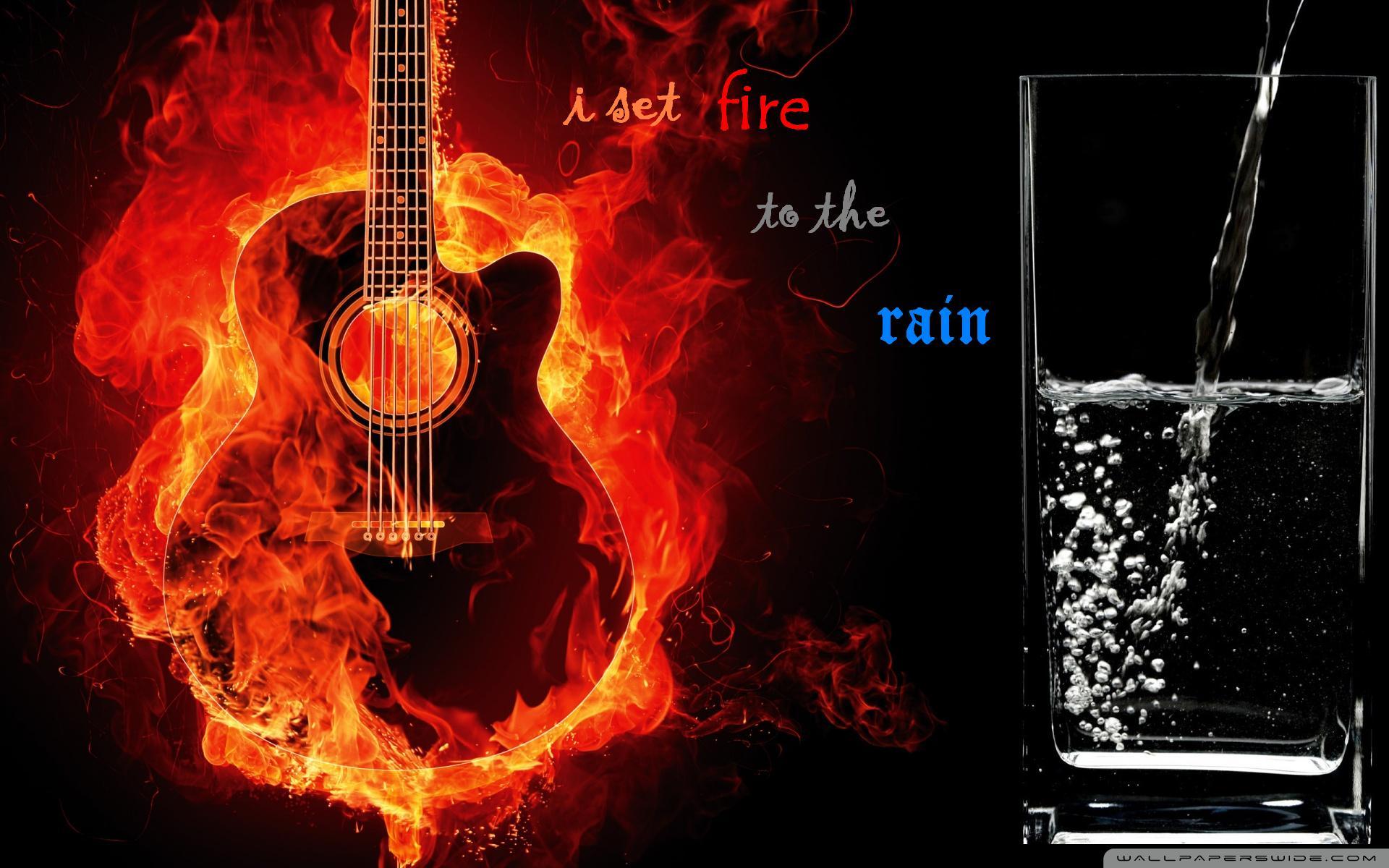 Rain Set I Fire
